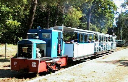 Le petit train de saint trojan for Hotel des bains oleron